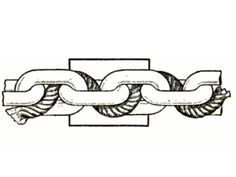 To prevent a chain from rattling, weave a rope in between the links, we said in June 1916. Arrange the rope so that it threads only in spaces between the links.   - PopularMechanics.com