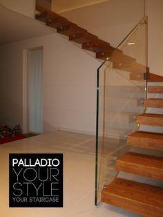 Открытая лестница PALLADIO WOOD FLOATING by Palladio Scale