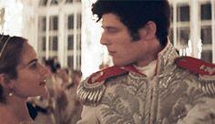 War and Peace Ballroom Scene. James Norton and Lily James. My favorite scene.