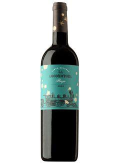 Vino La Locomotora. D.O Rioja. #taninotanino #vinosmaximum