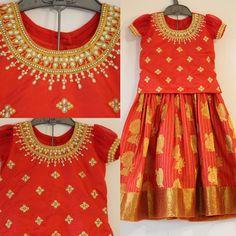 Kids Party Wear Dresses, Kids Dress Wear, Baby Girl Dresses, Kids Lehenga Choli, Kids Lehanga, Indian Dresses For Kids, Kids Blouse Designs, Kids Ethnic Wear, Kids Frocks Design