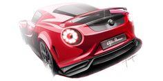 Alfa Romeo design sketch