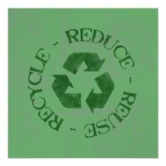 Shop Distressed Reduce Reuse Recycle Poster created by yarddawg. 3r Reduce Reuse Recycle, Ways To Recycle, Recycling Quotes, Recycling Information, Recycle Symbol, Advantages Of Solar Energy, Save Our Earth, Recyle, Recycled Crafts