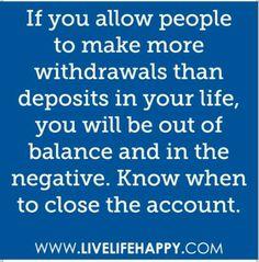 I close the whole BANK! LOL