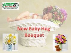New Baby Hug Bouquet for Boys and Girls,  Welcome to new baby with flowers. Panda Flowers is a florist shop in Calgary. We offers new baby hug bouquet for boys and girls both. Order your flower gifts without delay. Visit this source: https://www.pandaflowers.ca/home.php?cat=New-Baby for see all category flowers for new baby.