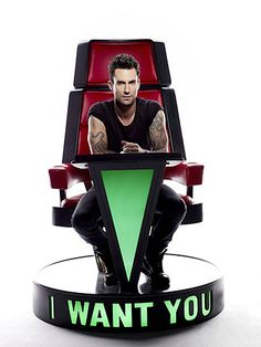 Coach Adam Levine - The Voice (premiering after the Superbowl this Sunday on NBC!) #TheVoice #TeamAdam