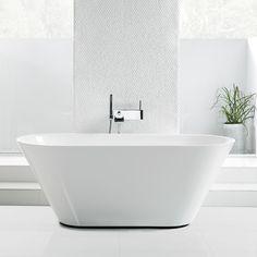 Badkar Svedbergs Oval 158med bräddavlopp Mycket vackert badkar av gjutmarmor, tidlöst och med klassiska linjer. Med ett rejält baddjup. Levereras inklusiv