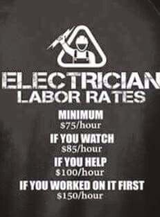 0b10e445a2a6609c155827fdaab136d5 electrician humor work quotes electrician noun a person who repairs what your husband has