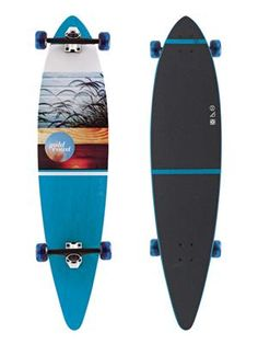GoldCoast Skateboards The Honey Longboard Complete