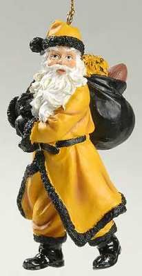 GT Santa Claus ornament