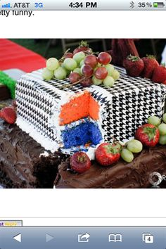 This is a funny one that a bride pulled on her groom and his cake.