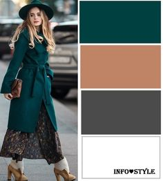 Love this look ! Colour Combinations Fashion, Color Combinations For Clothes, Fashion Colours, Colorful Fashion, Color Combos, Color Schemes, Color Harmony, Color Balance, Dressy Casual Outfits