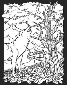 Welcome to Dover Publications  Creatures of the Night Stained Glass Coloring Book