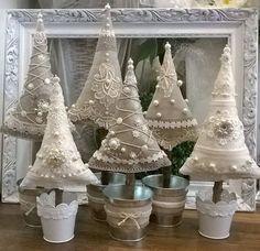 vianočné stromčeky / christmas tree hand made by wedding dreams detva