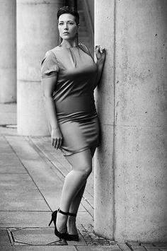 Plus Size Model Marisa Irina From D 252 Sseldorf Germany