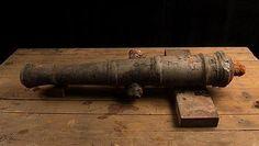 El hallazgo del Encarnación, de la flota de 1681: la historia perdida, frágil bajo el mar-Uno de los cañones hallados en los barcos de Henry Morgan /Kingston Images