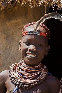 Africa   Girl from the Karo tribe, Ethiopia   © Johan Gerrits