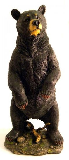 Gentle Black Bear Large Sculpture