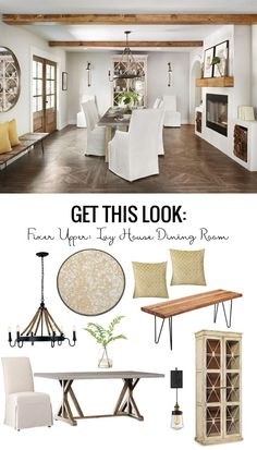 Get This Look: Fixer Upper Ivy House Dining Room