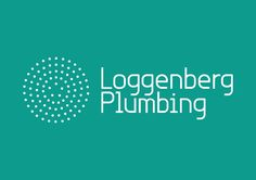 Loggenberg Plumbing logo designed by Concrete #logo #branding #identity