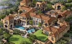 South African Mansions   luxury mega mansion floor plans –I give myself 10 years to start a building project like this.: