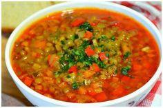 Болгарский суп лешта (суп с чечевицей) Chana Masala, Soup Recipes, Salsa, Food And Drink, Fresh, Ethnic Recipes, Salsa Music, Restaurant Salsa