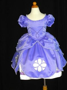 Sofia The First Ball gown. Toddler to Size 8. by CostumeKids
