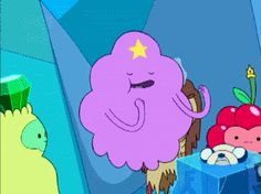 Lumpy-Space-Princess-Celebration-Dance-Of-The-Purple-Cloud-On-Adventure-Time Lumpy-Space-Princess-Celebration-Dance-Of-The-Purple-Cloud-On-Adventure-Time