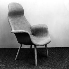 """Eames Saarinen Organic Design Relaxation Chair, the 1941 MoMA Prize Winner  Charles and Ray famously said, """"We wanted to make the best for the most for the least.""""  Learn more about how the Eameses began mass producing furniture and how they came to this design philosophy by reading the excerpt below from the book, An Eames Primer:"""