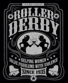 I love roller derby!