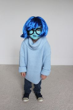 love and lion: DIY HALLOWEEN COSTUME FOR LITTLES - SADNESS