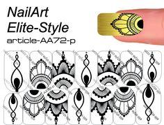 Слайдер дизайн AA72-p — СЛАЙДЕР-ДИЗАЙН NailArt Elite-Style NEW! — Каталог — Elite Style