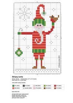 Vandaag begint in veel landen om ons heen de adventstijd en daarom is het leuk om weer een blogje met gratis borduurpatroontjes voor Kerst ...