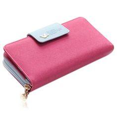 Jessica - 11 Color Leather Variants Long Design Clutch Lady Wallet Purse