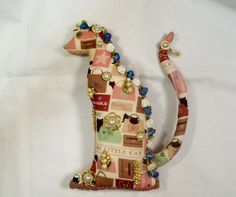 OOAK My Little CAT All Dressed Up cloth art doll 10 by arziehodge