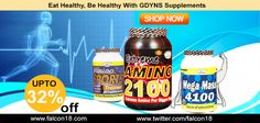 #GDYNS is the largest selling company of India in #Health #Supplements and their Products are best known for Health #Supplements. Hurry !!! up to 32% off on Supplements