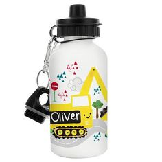 Personalised Drinks Bottle - Digger