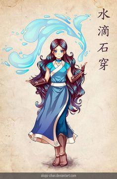 Katara (Avatar: The Last Air Bender fan art) by Nukababe on DeviantArt