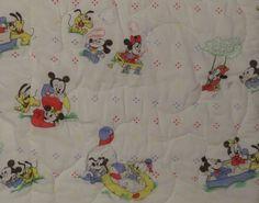 Vintage Mickey Mouse toddler sleeping bag