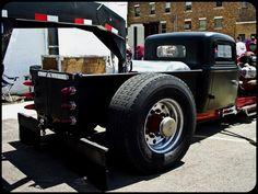 rat rod #pickup #trucks Rat Rod Cars, Hot Rod Trucks, Big Rig Trucks, Cool Trucks, Pickup Trucks, Semi Trucks, Custom Rat Rods, Custom Trucks, Custom Cars