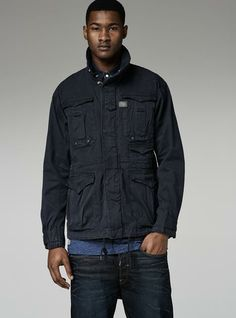G-Star RAW — Armoured Field Jacket - Men - Jackets