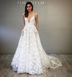 """208 Likes, 12 Comments - Jim Hjelm by Hayley Paige (@jim_hjelm) on Instagram: """"We are dreaming of #style8750 by @misshayleypaige @Whitneyalyssa #jimhjlembyhayleypaige #jimhjelm…"""""""