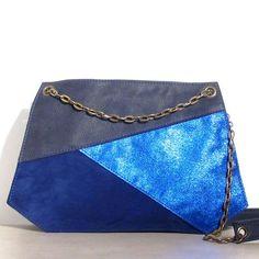 Blue #mood chez #matieresareflexion avec le sac Leo #sac #bag #paris #designer