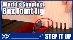 Make this Box Joint Jig in Minutes! | STEP IT UP - YouTube