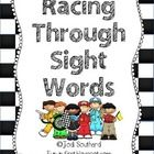 This is a fun way for students to practice reading their sight words.  Students will race each other as they work on sight word fluency....