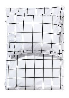NetAnttila - ANNO Pussilakanasetti Lomaruutu 150x210 cm | Vuodevaatteet ja tekstiilit