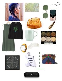 """I can't think of a title"" by dakotarosedennis on Polyvore featuring Gap, The Row, Cynthia Rowley, Albeit, Hue, Dansk, adidas and Beats by Dr. Dre"