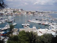 Piraues, the port from which we embarked and disembarked 14 days later.