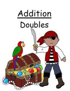 "FREE Center Game Math Addition ""Doubles"" Concept ~Over 50 Pages~ - Fern Smith's Classroom Ideas - TeachersPayTeachers.com"