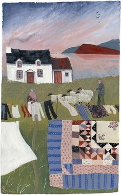 Valeraine Leblond. French and Quebecker artist who has lived in Wales since 2007.